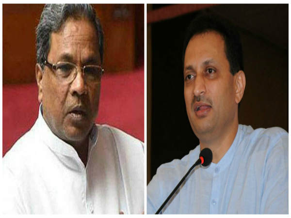 A complaint filed against Ananthkumar Hegde for controversial statement on Siddaramaiah