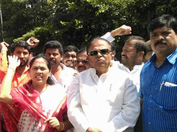 Illegal Denotification Bjp Takes Complaints To Governor