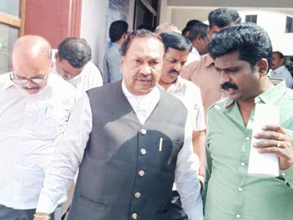 Hanuma Jayanthi Row Ks Eshwarappa Slams State Govt