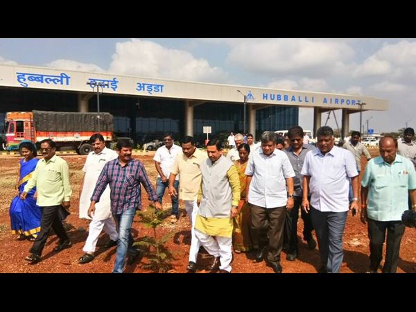 Hubballi airport new terminal to be inaugurated on Dec 12, 2017