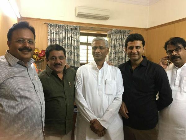 Shrimant Balasaheb Patil Meets Cm Siddaramaiah