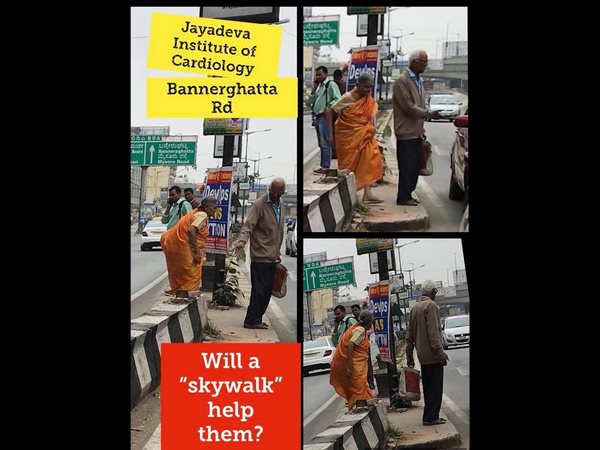 Demand By Citizens For Bengaluru Install A Signal With Walk Button