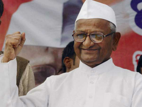 Anna Hazare will address rally in Hubli on Jan.4