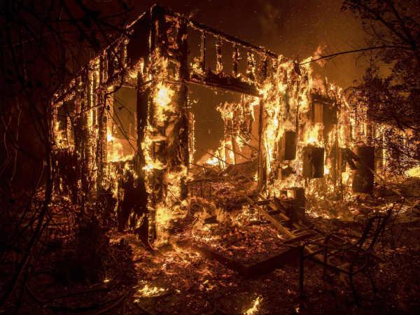 California Wildfire Few Viral Videos