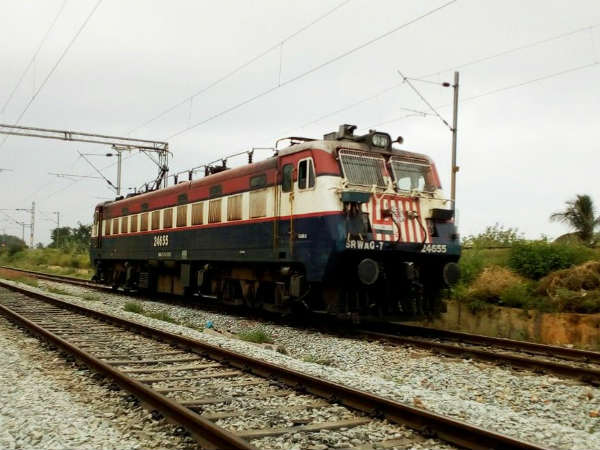 First electric train comes in Mysuru