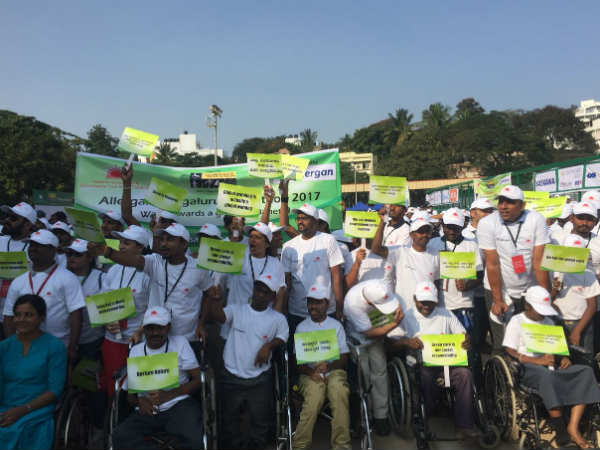 Thousands Of Bengalureans Join Hands For Walkathon
