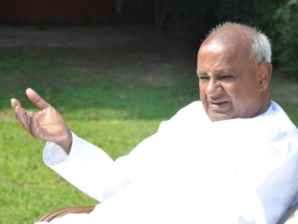 People not responding for CM Yatra: Devegowda defines