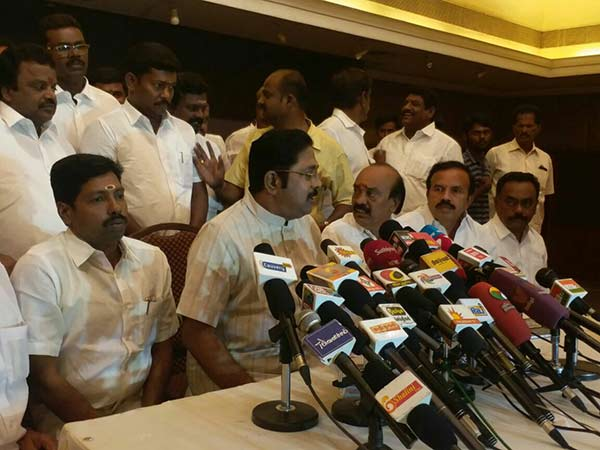 Palaniswami government would fall in three months: Dhinakaran