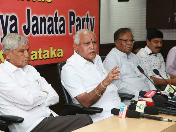 Congress politicizing Mahadayi issue says BS Yeddyurappa