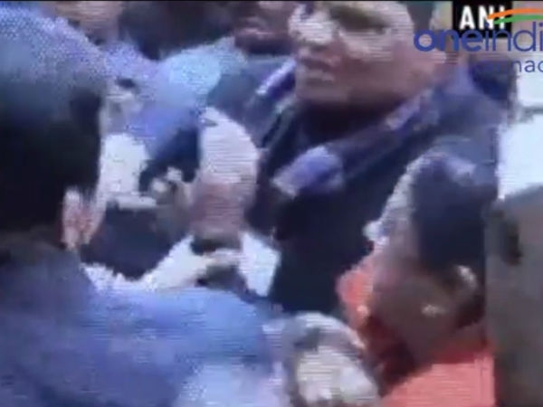 MLA and lady constable slapped each other