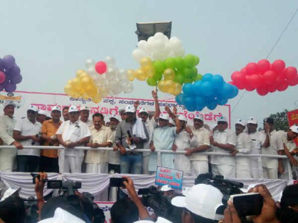 Mangaluru Minister Ramanatha Rai Kick Starts Samarasya Nad