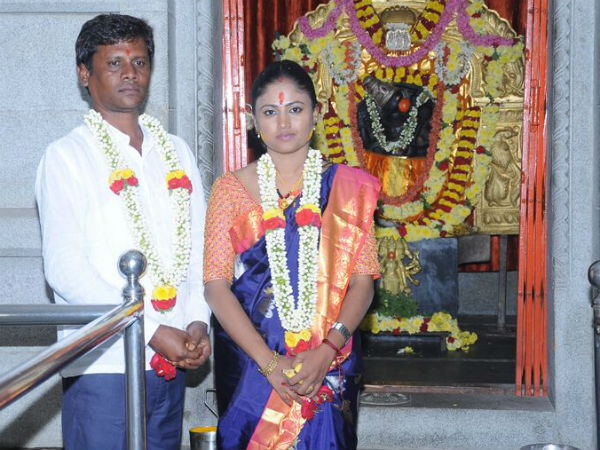 Kannada Film Producer Realtor Govardhan Murthy Marry Kpcc Secretary Manjula