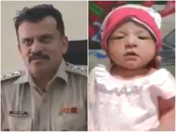 Bengaluru Sp S Humanitarian Act Saves A Girl Child A Viral Video