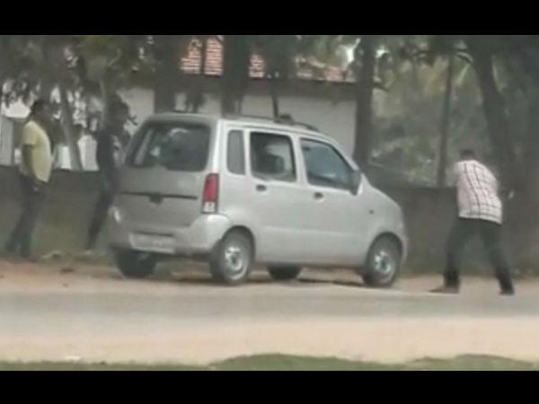 ಮೈಸೂರು: ಹಾಡ ಹಗಲೇ ರೌಡಿಗಳ ಆರ್ಭಟ