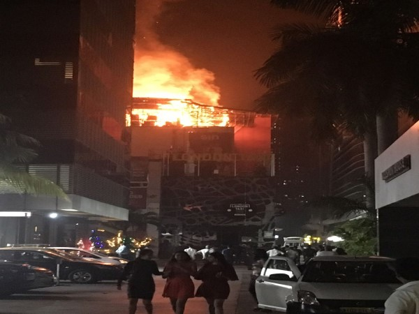 Major fire in restaurant in Kamala Mills compound, several dead