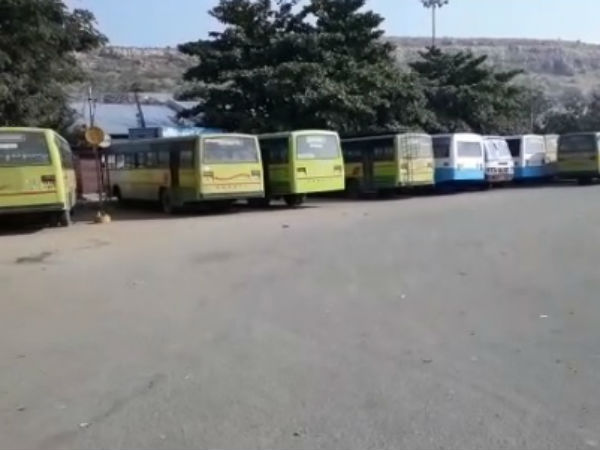 North Karnataka bandh hits bus services