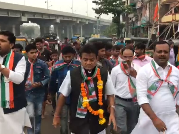 UT Khader performing election campaign in Gujarath