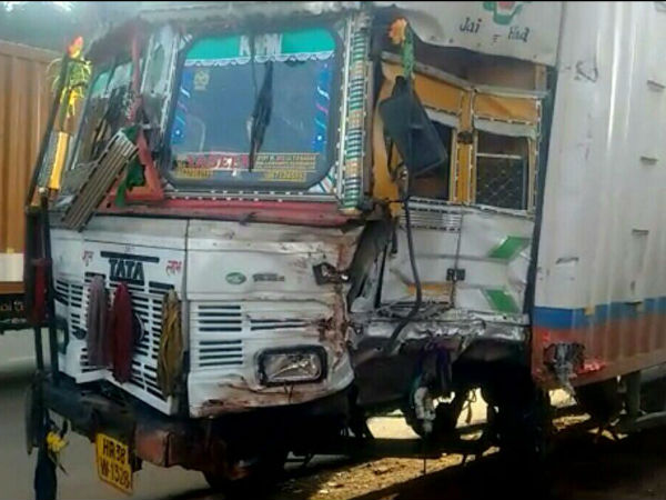 Accident In Mangalore One Woman Died 17 Injured