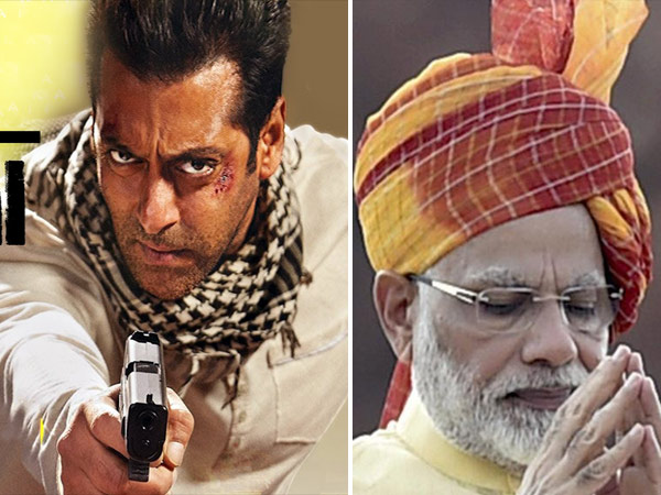 Salman Khan Starer Tiger Zinda Hai A Tribute To Pm Narendra Modi
