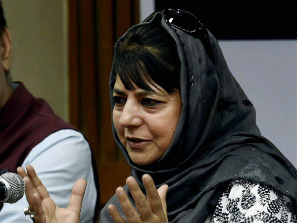 Mehbooba Mufti re-elected as PDP president