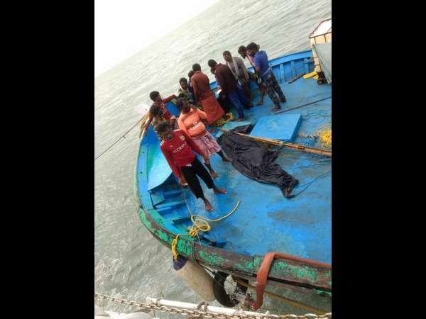 Mangalorean Indian Coast Guard rescued 13 distressed fisherman