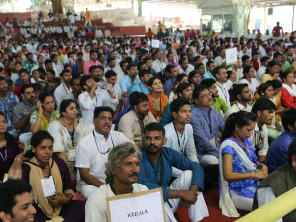 National Rural Youth Meet in Art of Living