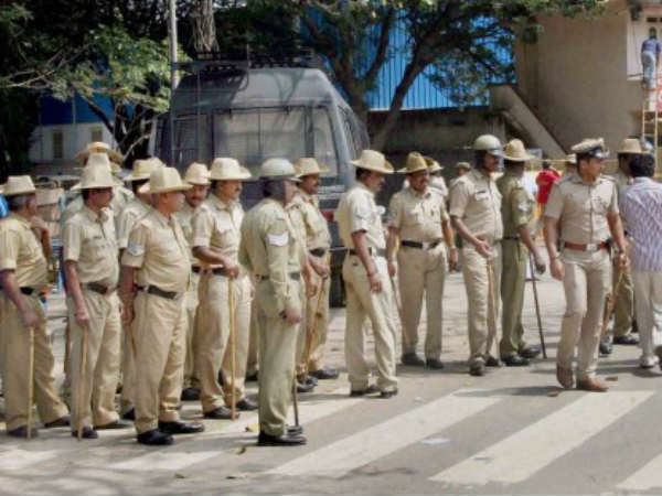 Stringent police security during New Year celebrations in Mangaluru