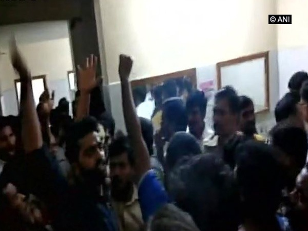 Protest Erupts In Osmania University After Student Commits Suicide