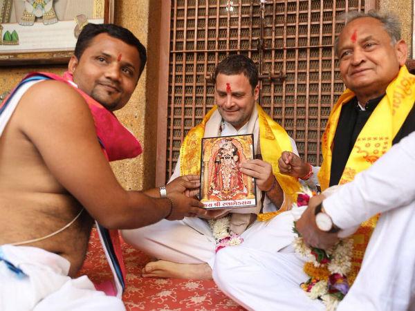 ವಿಡಿಯೋ: ಗುಜರಾತ್ ನಲ್ಲಿ ರಾಹುಲ್ ಗೆ 'ಮೋದಿ' ಘೋಷಣೆಯ ಮುಜುಗರ