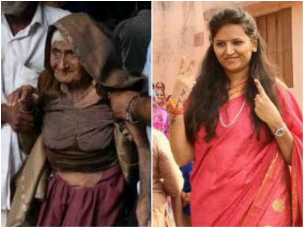 Gujarat Election 126 Year Old Casts Vote Protest Against Reshma Patel