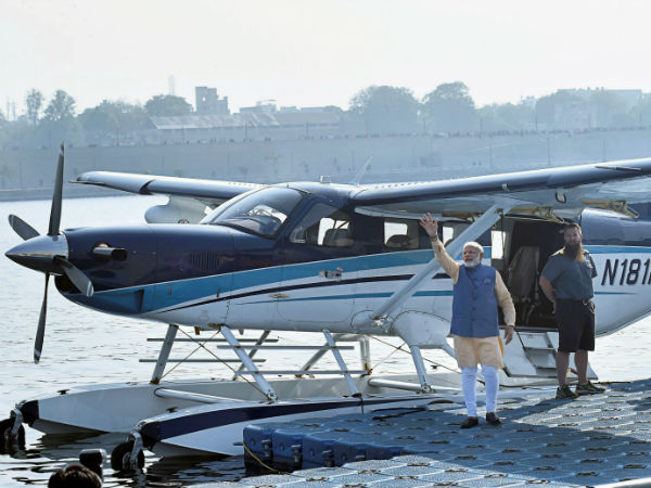 After Pm Modis Travel Seaplane Becomes A Trending Subject