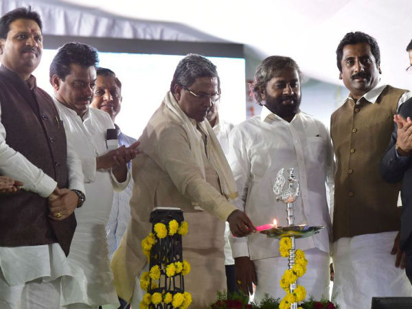 Navakarnataka Niramana Yatra In Bidar Siddaramaiah Speaks About His Governments Ahievement