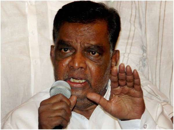 BJP leader Shrinivasprasad lambasted on his party leaders only