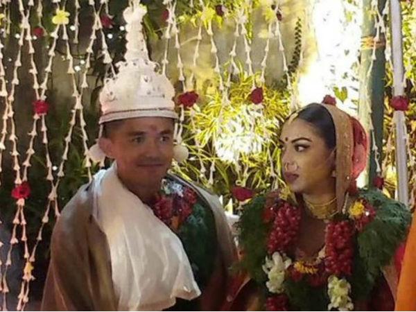 Sunil Chhetri Ties The Knot With Long Time Girlfriend Sonam Bhattacharya