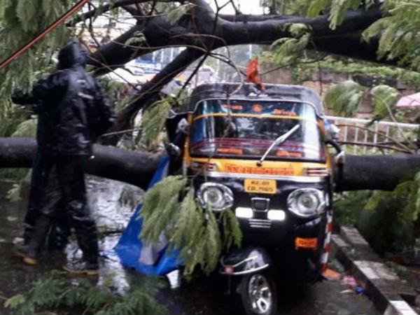 Cyclone Ockhi Effect High Alert Tn Kerala Light Rains Over Bengaluru