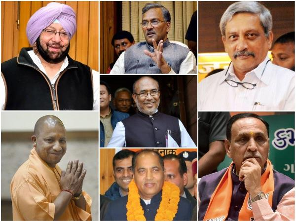 Assembly Elections Of 2017 Elections Held For 7 States Bjp Bagged