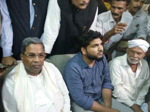 Siddaramaiah visited Deepak Rao and Abdul Basheer's residence