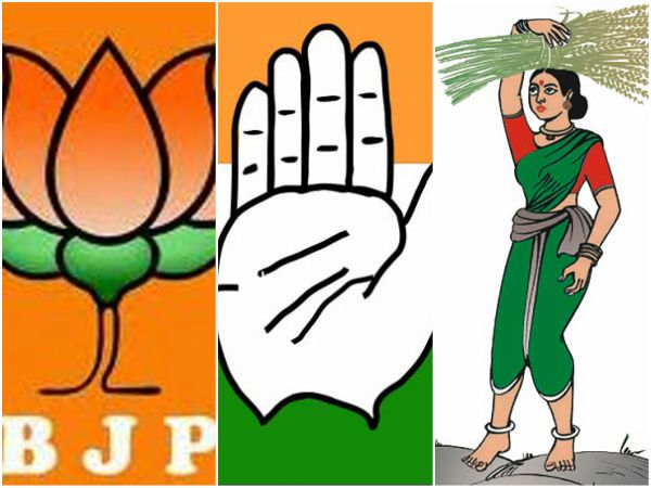 Vishwavani Poll Survey Congress Lead Bjp Second Place
