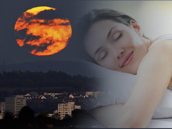 Who Sleeps More Have Problem Of Lunar Eclipse