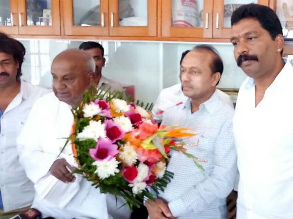 Rm Manjunath Gowda Joins Jds