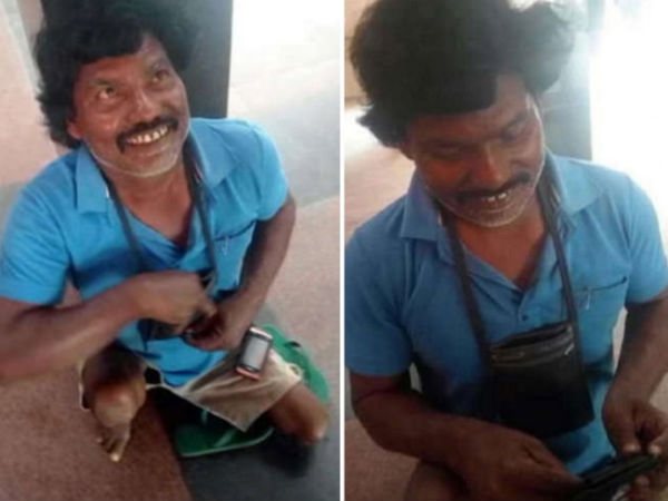 40-year-old disabled beggar who earns 4 lakh a year and has 3 wives!