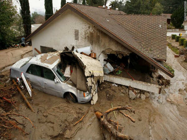 California Mudslides Death Toll Rises To 17