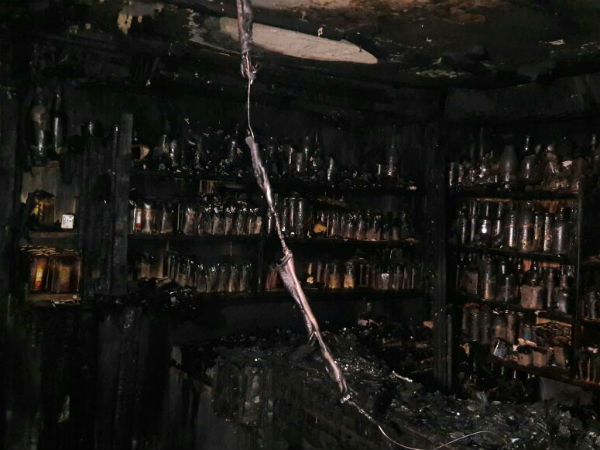 K.R Market : Kailash Bar and restaurant staffs charred to death