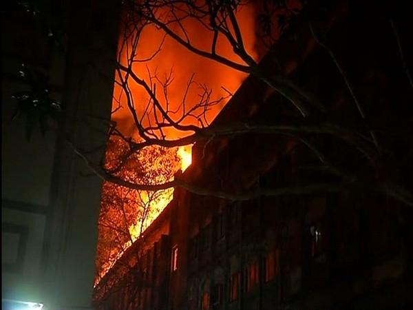 Fire Breaks Out In Mumbais Navrang Studio