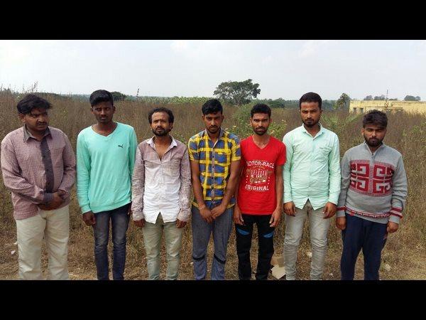 Shivamogga Police Arrests 9 Ganja Smugglers