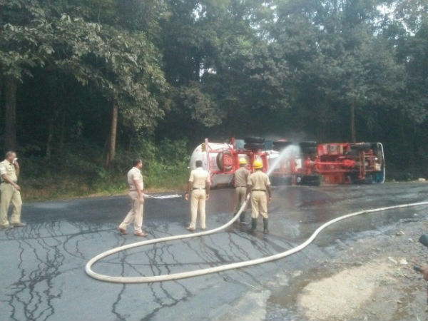 Gas Tanker collapse in Shiradi Ghat