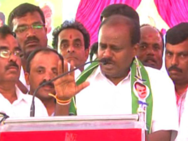 I Swear On My Father That Siddaramaiah Will Not Become Cm Again Hd Kumaraswamy