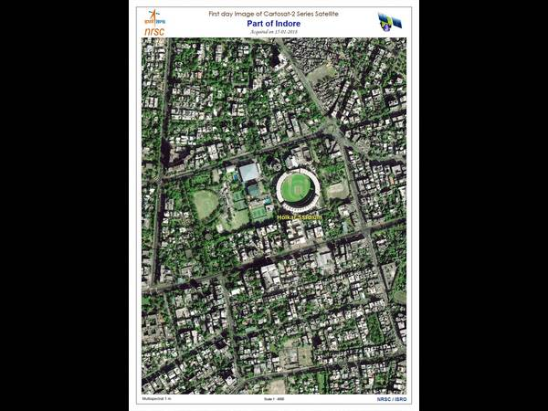 Isro Releases First Image Taken By Cartosat 2 Satellite