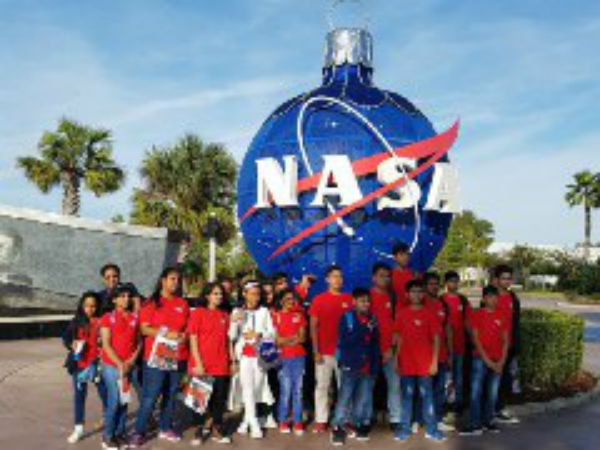 NASA trains Kalaburagi girl Neha on Aero space