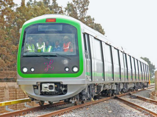 Namma metro records highest ridership by 44k